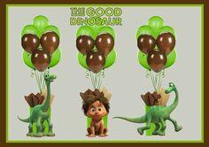 The Good Dinosaur Balloon Weights / Centerpieces