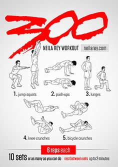 300 Workout (mommy)