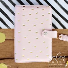 Hey, I found this really awesome Etsy listing at https://www.etsy.com/listing/279028014/a5-planner-kit-blush-pink-and-gold-dot