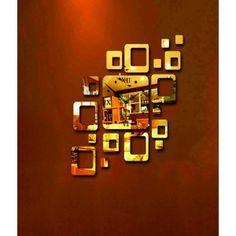 Moderne Klebe Stunden Zlatúšik, goldene Farbe.