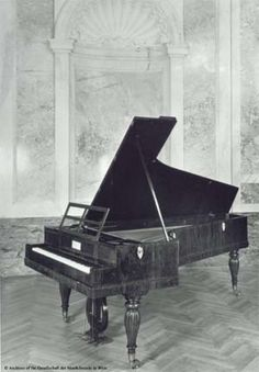 The Sammlung Alter Musikinstrumente (Collection of Antique Musical Instruments) at Vienna's Kunsthistorisches Museum has on permanent display numerous composers' pianos, all of which were for years in the keeping of the collection's Curator Emeritus, Dr. Gerhard Stradner. One of these is a Viennese grand piano made by Conrad Graf (who had made Beethoven's last instrument). This Graf piano has a solid Brahms connection: Robert Schumann had it in his workroom at Bilkerstrasse 15 in Düsseldorf…