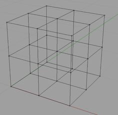 how inscribe the curves, make them move...how to create 3d grid lines - Grasshopper