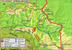 BIKEPARK Bachledova - Downhill, Freeride, Crosscountry European Countries, Czech Republic, Map, Location Map, Maps, Bohemia
