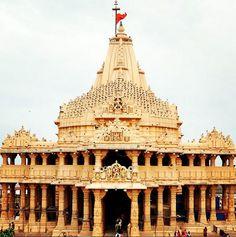 Somnath, India. Somnath - is the first among the twelve Jyotirlinga shrines of Shiva. Create trip plan to Somnath – www.TripJinnee.com #somnath #gujarat #veraval #shiva #shiv #shravan #temple #hindu #gujarat #gujarattourism #khusbu #religious #Hinduism #traveltoindia #incredibleindia #triptoindia #tripplanner #india #beautiful #amazing