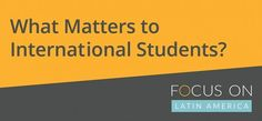 #News: What Matters to Prospective Students in Latin America?