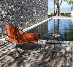 muebles al aire libre clásica y de la vendimia por Oasiq