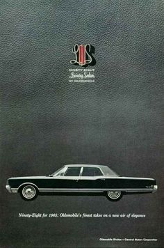 1965 Oldsmobile 98 Luxury Sedan