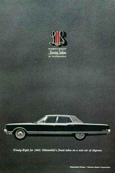 1965 Oldsmobile 98 Luxury Sedan
