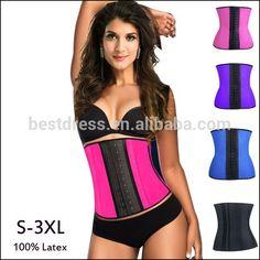 49877d85b1 Lady Latex corset body shaper Waist Trainer Corset 100% Latex Corset Sexy  Women Latex Waist