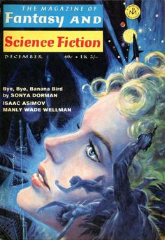 scificovers:  The Magazine of Fantasy and Science Fiction December 1969. Cover by Ed Emshwiller.