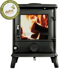 AGA Ludlow SE Smoke Exempt stove, Defra approved stove for use in smokeless Zone areas. Buy the AGA Ludlow SE cast iron stove - AGA Authorised Retailer Flame Picture, Aga Stove, Wood Fuel, Seasoned Wood, Multi Fuel Stove, Cast Iron Stove, Real Fire, Fire Doors, Gas And Electric