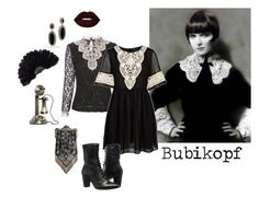 """1920s: Bubikopf"" by miss-aleystair on Polyvore featuring Mode, John Hardy, Fashion Union, Johnston & Murphy, Masquerade, vintage, retro, 1920s, antique und fashionset"