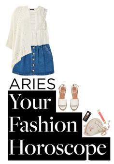 """aries contain multitudes"" by chintyar ❤ liked on Polyvore featuring MANGO, Violeta by Mango, Betsey Johnson, Guerlain, Mint Velvet, Mally, fashionhoroscope and stylehoroscope"