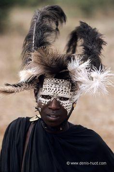 Africa | Masai Moran (young warrior).  Lake Natron, northern Tanzania | ©Christine and Michel Denis Huot