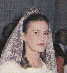 Tiara of the Counts of Alcudia, Spain (diamonds).