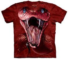 Red-Mamba-Adult-Animals-Unisex-T-Shirt-The-Mountain