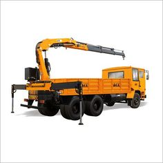AB 813 Lorry Loader Crane - Manufacturer,Supplier and Exporter Led Manufacturers, Small Engine, Crane, Engineering, Abs, Construction, Action, Trucks, India