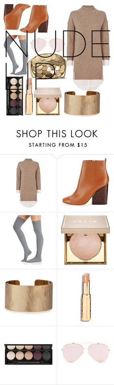 """""""Untitled #4"""" by lucia-khewhedinoh-marchi ❤ liked on Polyvore featuring beauty, Brochu Walker, Tory Burch, Stila, Panacea, Witchery and MICHAEL Michael Kors"""