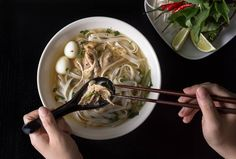 Make Easy Homemade Instant Pot Pho Ga Recipe (Pressure Cooker Pho Ga): this fragrant Vietnamese Chicken Noodle Soup warms the heart and nourishes the soul.