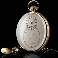 Jaquet Droz Ivory Enamel Pocket Watch