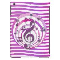 Just added to Gifts for Musicians and Music Lovers ~ A collection of music themed iPad Air cases with unique and popular musical designs.