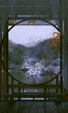 Aesthetic Japan, Aesthetic Art, Anime Scenery Wallpaper, Wallpaper Backgrounds, Nature Architecture, Arte 8 Bits, 3d Art, Fantasy Landscape, Animes Wallpapers