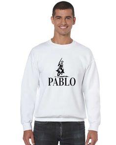 Men's Crewneck Pablo Escobar Mexicanos El Patron Top