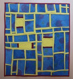 quilts und mehr: und fertig / and finshed Quilt Art, Inchies, Blog, Scrap, Blanket, Frame, Fabric, Decor, December 12