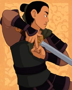 Fa Mulan, who saved us all by AliWildgoose on DeviantArt