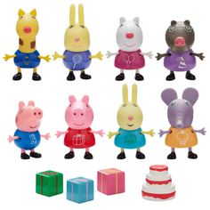 New /& Boxed Tickle /& Giggle Peppa Pig Plush