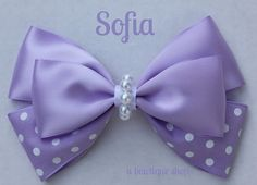 sofia hair bow