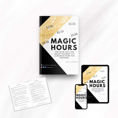 Magic Hours - Numerology Guide FREE download   I know you asked the universe many times why this happened or when good times will come or what is the next step you should take, but you thought that the universe didn't sent you the answers, but the universe is communicating with you through the numbers you see everyday including the hours you see.  This is why I created this short guide that you can print or keep it on digital format on your computer, tablet or phone and read it every time.