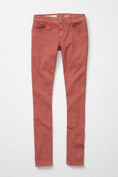 the stet by pilcro (anthropologie's brand of pants)... fits super cute and slim... hits at ankle or can be rolled up a bit.  love.