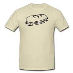 fastfood_sandwich_1c T-Shirt   Spreadshirt   ID: 9713351