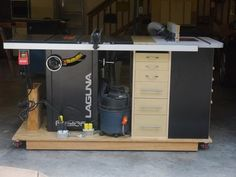 Table Saw/Router Combo Bench