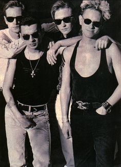 Depeche Mode - had this pix on a poster in high school - still my favorite band after all these years