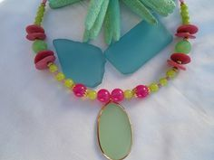 SALE JADE QUEEN Bohemian Necklace Gypsy Necklace by Nezihe1, $44.99