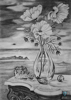 Naturaleza muerta http://valian-art.com/EN/valian-gallery.html?func=detail&id=383 #art #valian #valianart #pencil #drawing
