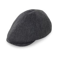 c6b0cfb1a3a Marshall Collins Wool Flat Cap