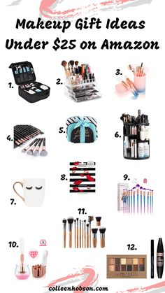 Amazon Makeup Gift Ideas Under $25! - Colleen Hobson