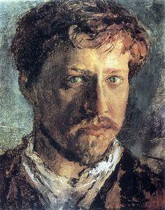 Автопортрет. 1880-е. Валентин Александрович Серов Валентин Александрович Серов (1865-1911)
