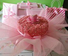 Ballet tutu cake in pretty pink Tutu Cakes, Ballet Tutu, How To Make Cake, Pretty In Pink, Desserts, Tailgate Desserts, Deserts, Postres, Dessert