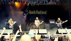 Sweden Rock Festival is an annual rock/metal festival held in Sweden since 6 June 1992. While having a clear rock/metal focus, the festival is noted for its div... Get more information about the Sweden Rock Festival 2017 on Hostelman.com #event #Sweden #music #travel #destinations #tips #packing #ideas #budget #trips #festival #sweden #rock #festival #2017