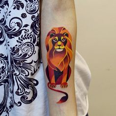 Russian tattoo artist Sasha Unisex is known for colorful and geometric ink designs that look just as at home on a canvas as they do on her clients' biceps.