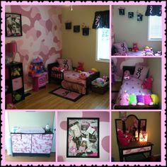Pink Camo Bedroom on Pinterest Camo Bedrooms Girls Camo