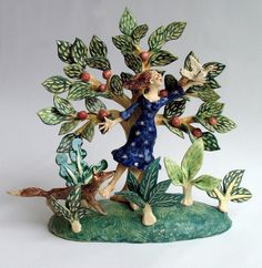 Appletree Tableau by Helen Kemp