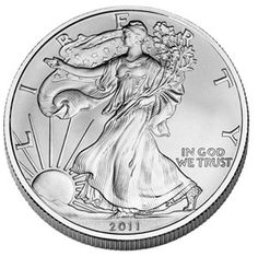 Monedas de plata, onzas de plata