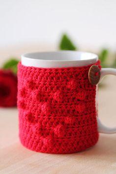 I Heart U Mug Cozy