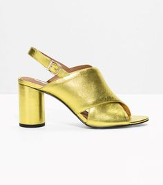 17 Pairs of Gold Shoes You Can Wear Anywhere via @WhoWhatWear