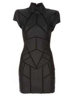 Cyberpunk Dress, Cyber Style, Futuristic Look, Future Fashion